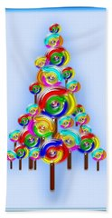 Lollipop Tree Beach Sheet