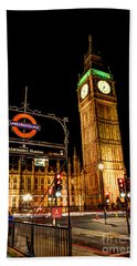 London Scene 2 Beach Towel