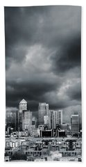 London Skyline 7 Beach Sheet by Mark Rogan