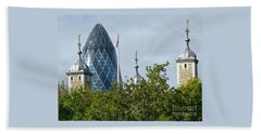 London Towers Beach Towel