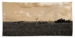 Lone Cypress Beach Towel