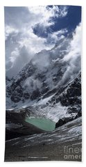 Lonely Lake On The Inca Trail Beach Towel