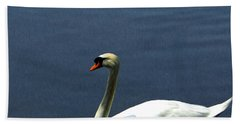 Lonesome Swan Beach Towel