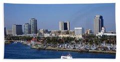 Long Beach Beach Towel