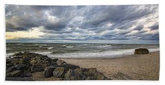 Long Island Sound Whitecaps Beach Sheet