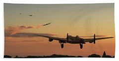 Long Night Ahead Beach Towel by Pat Speirs
