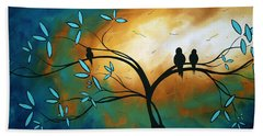 Longing By Madart Beach Towel