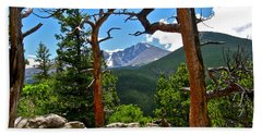 Longs Peak Beach Towel