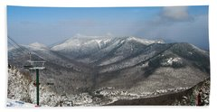 Loon Mountain Ski Resort White Mountains Lincoln Nh Beach Towel