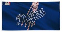 Los Angeles Dodgers Uniform Beach Towel