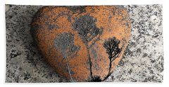 Beach Towel featuring the photograph Lost Heart by Juergen Weiss