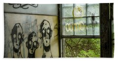 Beach Towel featuring the photograph Lost Souls - Abandoned Places by Gary Heller