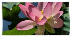 Lotus - Flowers Beach Sheet