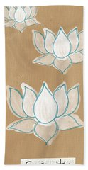 Lotus Serenity Beach Towel