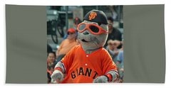 Lou Seal San Francisco Giants Mascot Beach Sheet