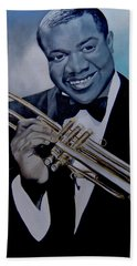 Louis Armstrong Beach Towel
