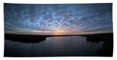 Louisiana Sunrise Beach Towel