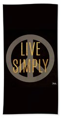 Love And Live II Beach Towel