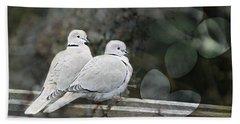 Love Birds Beach Towel