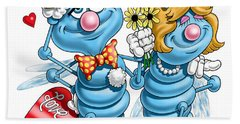 Love Bugs Beach Towel