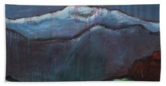 Love For Pikes Peak Beach Towel