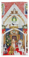 Love From Holly Lodge Beach Towel