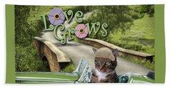 Love Grows Beach Sheet
