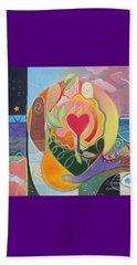 Love Is Love Beach Towel by Helena Tiainen