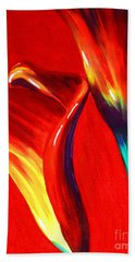 Love Lilies Beach Towel by Jackie Carpenter