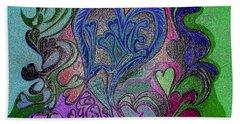 Love Triumphant 1of3 V7 Beach Sheet