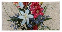 Lovely Bouquet Beach Towel