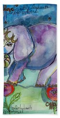 Lovely Little Elephant2 Beach Towel