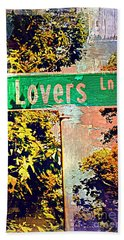 Lovers Lane Beach Towel