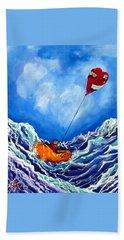 Love's Castaway Beach Towel by Jackie Carpenter