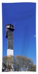 Low Angle View Of A Lighthouse Beach Towel