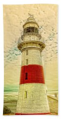 Low Head Lighthouse Beach Sheet by Wallaroo Images