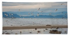 Herring Season  Beach Towel