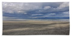 Low Tide Sandscape Beach Towel