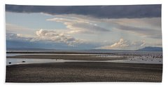 Low Tide  Beach Towel