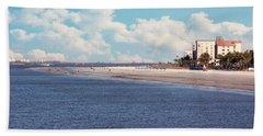 Low Tide - Fort Myers Beach Beach Towel