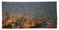 Beach Towel featuring the photograph Low Tide by George Katechis
