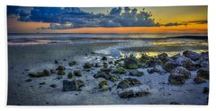 Low Tide On The Bay Beach Towel
