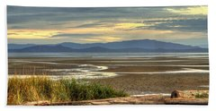 Low Tide Beach Towel by Randy Hall