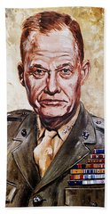 Lt Gen Lewis Puller Beach Towel