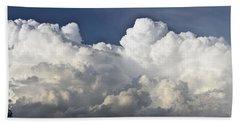 Lubbock Cloud Formation Beach Towel