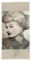 Lucille Ball Beach Towel