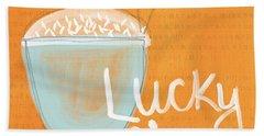 Lucky Rice Beach Towel