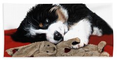 Lullaby Berner And Bunny Beach Towel
