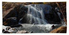 Beach Sheet featuring the photograph Lundy Creek Cascades by Lynn Bauer