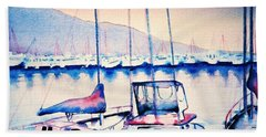 Maalaea Harbor Beach Towel